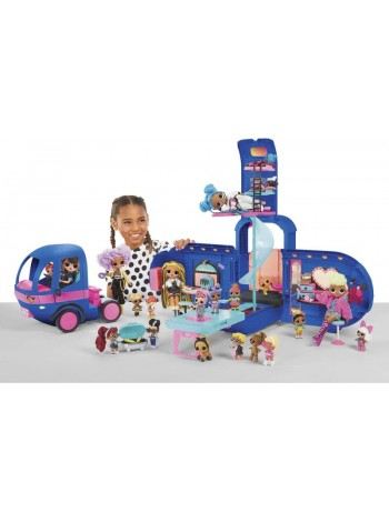 LOL Surprise OMG 4-in-1 Glamper Fashion Camper with 55+Surprises Electric 569459