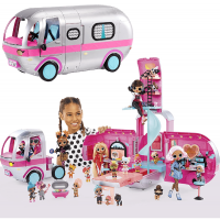 LOL Surprise OMG 4-in-1 Glamper Fashion Camper 2021 with 55+Surprises Electric