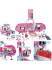 LOL Surprise OMG 4-in-1 Glamper 2021 Fashion Camper with 55+Surprises Electric 576730