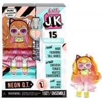 LOL Surprise Neon QT JK 570776 Series Mini Fashion Doll