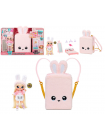 Na Na Na Surprise 3  в 1 Backpack Bedroom Pink Bunny 569732 Playset with Limited Edition Doll