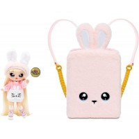 Na! Na! Na! Surprise 3in1 Backpack Bedroom Pink Bunny Playset with Limited Edition Doll