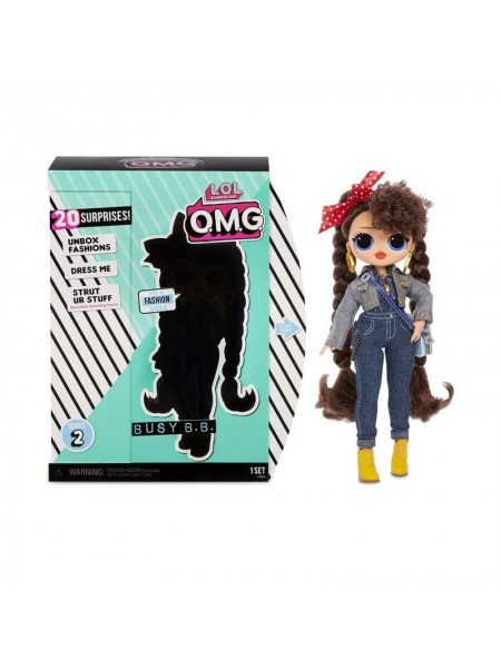 LOL Surprise OMG Busy B.B. Fashion Doll 2 Series