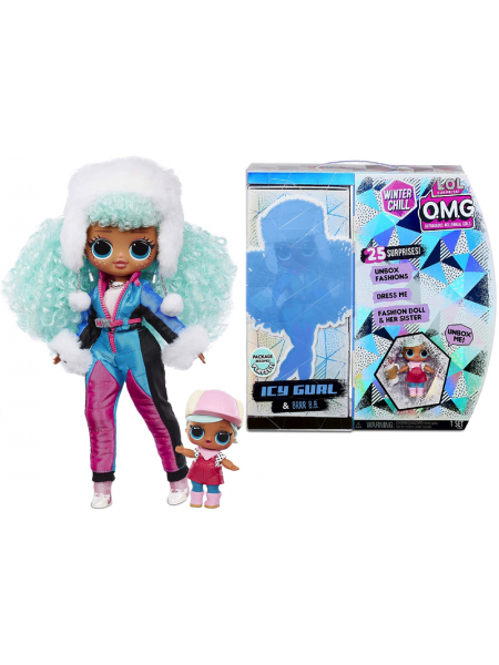 LOL Surprise OMG Winter Chill ICY Gurl & Brrr B.B. 570240